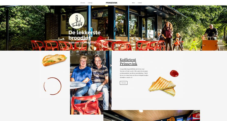 Horeca website