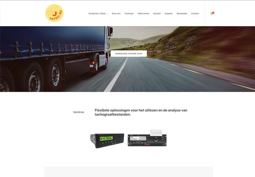 Tacho-homepage