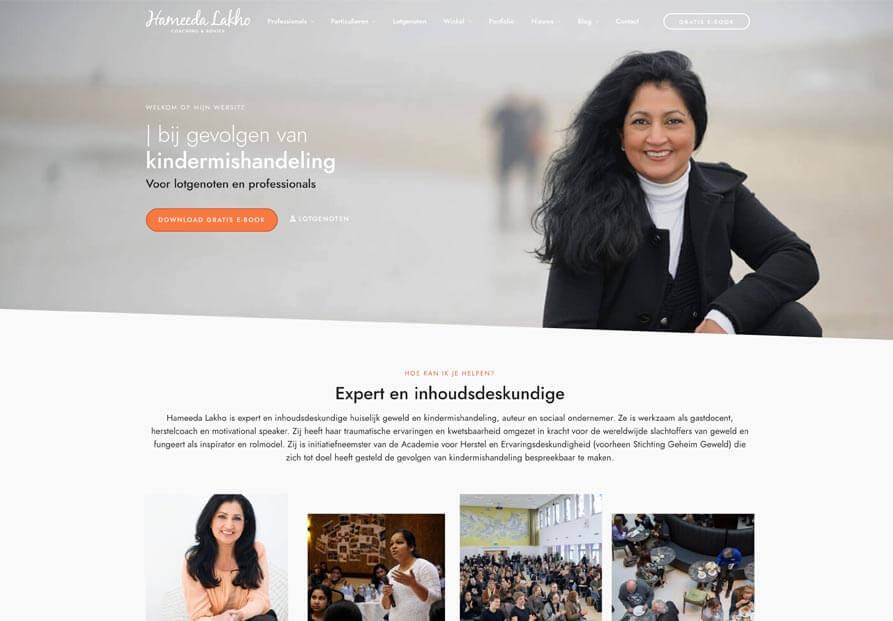 Website-hameeda-lakho